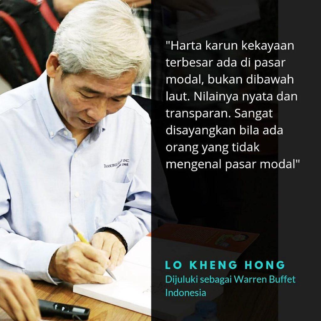 cara memilih saham yang tepat dari lo kheng hong, bapak warren buffet indonesia