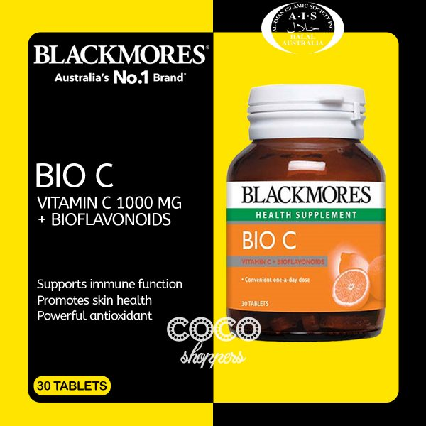 jual blackmores bio c di tokopedia shopee lazada jdid bukalapak termurah asli original australia aussie, halal, vitamin c dosis tinggi untuk kecantikan kulit