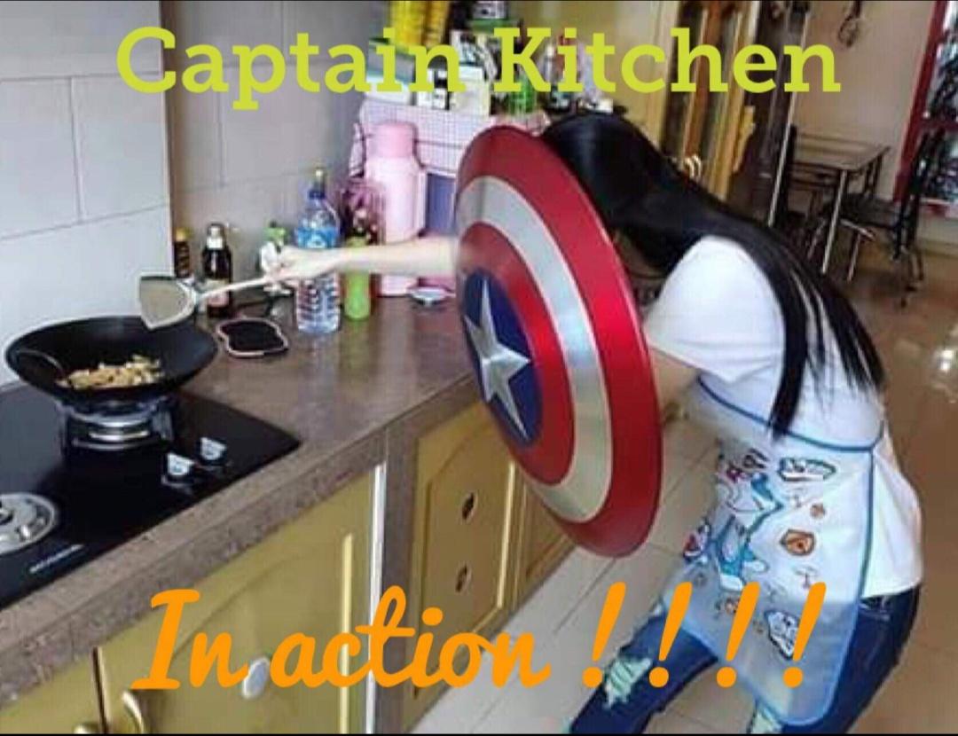 captain america shield for kitchen using