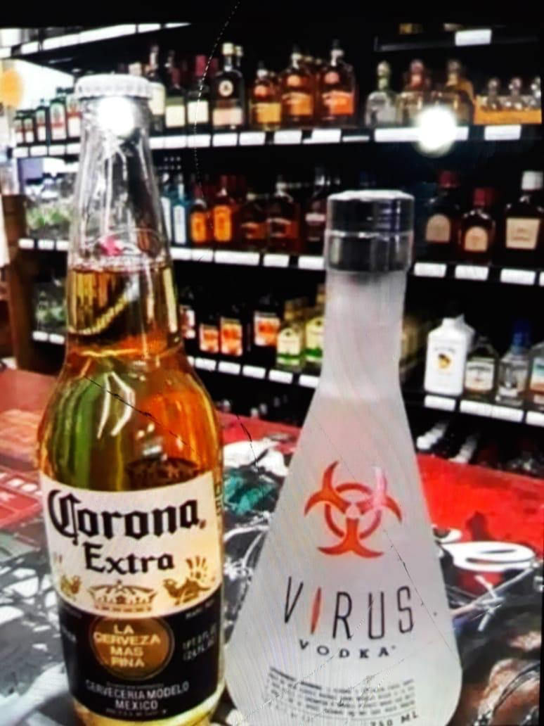 coronavirus takes form in real life