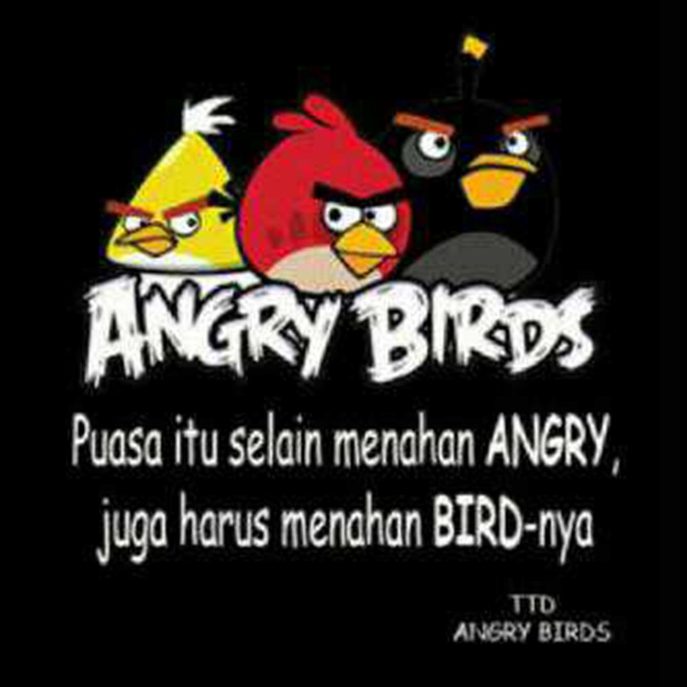 angry birds burung marah selama puasa tidak boleh ngapain aja, pantangan selama puasa bagi umat muslim dan muslimah seluruh dunia, what you should not do while fasting 2020, panduan puasa yang benar