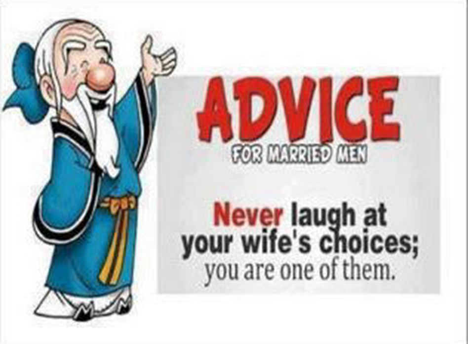 wise advice for marriage life