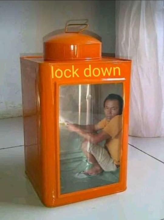 rasanya kena lock down di kampung