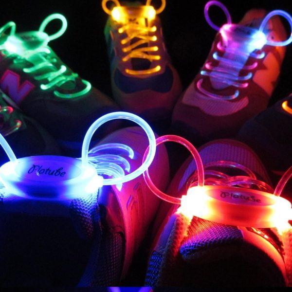 Tali sepatu LED untuk sepatu nike, adidas, puma, fila, reebok, kappa, sneakers dan sepatu basket