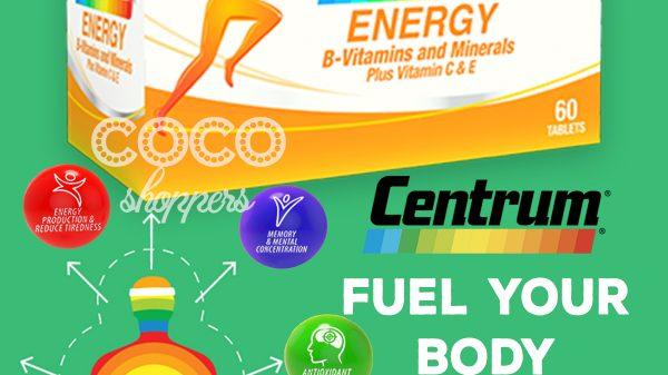 jual centrum energy termurah di tokopedia seller multivitamin mineral import amerika usa tidak kalah dengan vitamin australia blackmores swisse nature's way vitamin e, zinc, copper