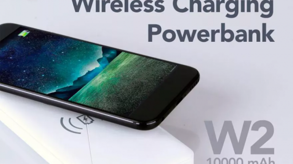 HIPPO Ilo W2 10000mAh Wireless Power Bank - White