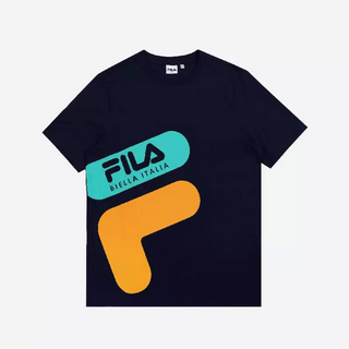 FILA Colorful Paradise Collection T-Shirt Unisex Marlo - Navy M