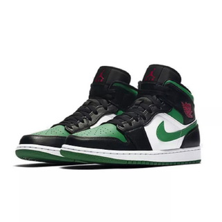 NIKE AIR JORDAN 1 MID Green Toe