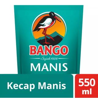 bango kecap manis 550ml refill pouch diskon murah lebaran