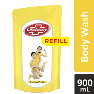 lifebuoy sabun cair lemon fresh refill pouch 900ml diskon murah lebaran